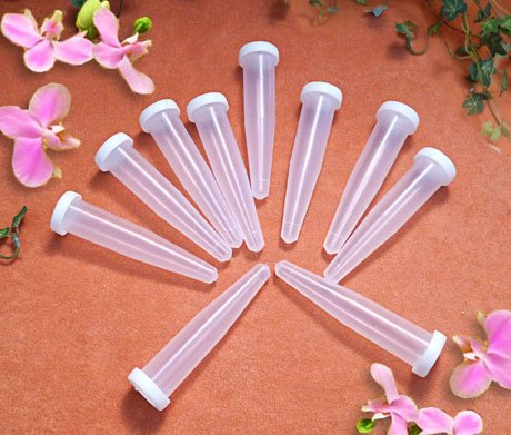 100 Stück Orchideenröhrchen 16ml Blumenröhrchen