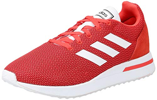 adidas RUN70S, Zapatillas de Running para Hombre, Rojo (Hi/Res Red S18/Ftwr White/Scarlet Hi/Res Red S18/Ftwr White/Scarlet), 43 1/3 EU