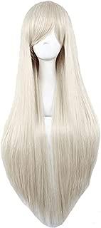 GOOACTION Cosplay Long Silver White Straight Wig Hiou Shizuka Vampire Knight Wigs