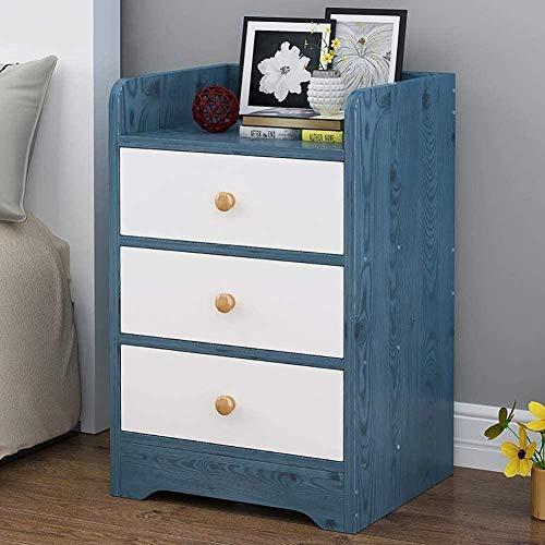 Bath chair Mesita de noche grande para dormitorio, mesita de noche moderna para sala de estar, dormitorio, mesita de noche, armario de almacenamiento con cajones CHFYG (color: I)