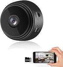 Sponsored Ad - Mini Camera WiFi Wireless Video Camera 1080P HD Small Home Security Surveillance Cameras with 32G SD Card,P...