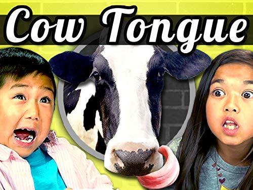Kids Vs. Cow Tongue