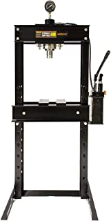 Wimmer 30 Ton Shop Press with Hand Pump Pressure Gauge H-Frame Hydraulic Equipment 32