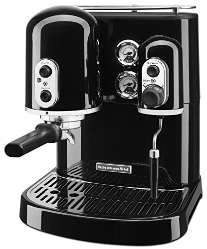 KitchenAid Pro Line Series Espresso Maker with Dual Independent Boilers KES2102OB, One Size, Onyx Black