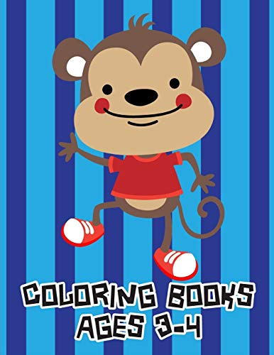 Coloring Books Ages 3-4: Stress Relieving Animal Designs (Animals Design, Band 2)