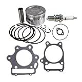 NICHE Gasket Piston Ring Kit For 1987-2011 Yamaha Raptor Warrior Grizzly Wolverine 350 Moto YFM350RSE YFM350X YFM350FA