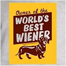 product image for High Cotton Extra Large Owner of The World′s Best Wiener Humorous T-Shirt Grey