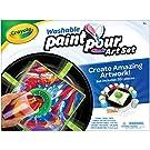 Crayola Washable Paint Pour Set, Paint Set, 20 Pcs, Gift for Teens & Kids