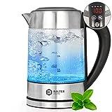 Balter Wasserkocher ✓ Temperatur 60-100C ✓ Warmhaltefunktion ✓ Edelstahl und Glas ✓ BPA FREI ✓ 1,7 Liter ✓ LED