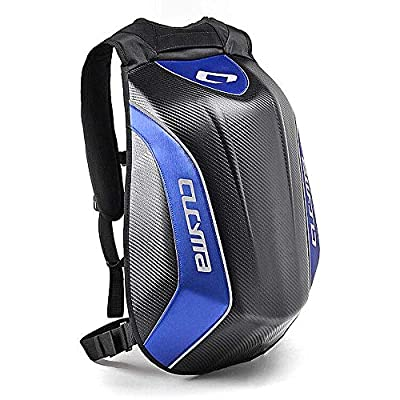 CUCYMA Motorcycle Backpack Motorsports Track Riding Back Pack Blue