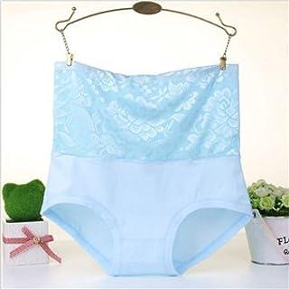 MTNK Plus Size Underwear Women Body Shaper High Wasit Flower Lace Panties Briefs Women Panties