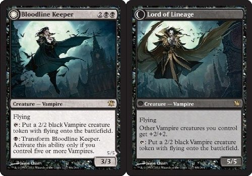 Magic: the Gathering - Bloodline Keeper // Lord of Lineage - Innistrad