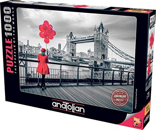 Anatolian 1000Piece Jigsaw Puzzle - Tower Bridge Jigsaw Puzzle