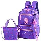 ZqiroLt Schultasche, hübsche Schleife für Kinder, Mädchen, Rucksack, Büchertasche, Handtasche,...