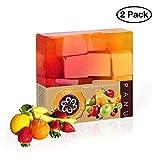 Panu Fruity Seife - Vegane Naturseife für alle Hauttypen - Seifenstück als Gesichtsseife und...