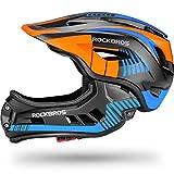ROCK BROS Kids Bike Helmet Toddler Full Face Helmet Detachable...