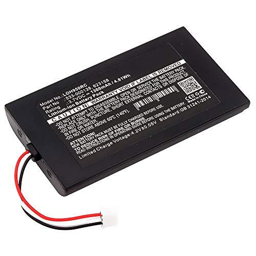 subtel® Qualitäts Akku kompatibel mit Logitech Elite, Harmony 950, 915-000257, 915-000260, 533-000128, 623158 1300mAh Ersatzakku Batterie