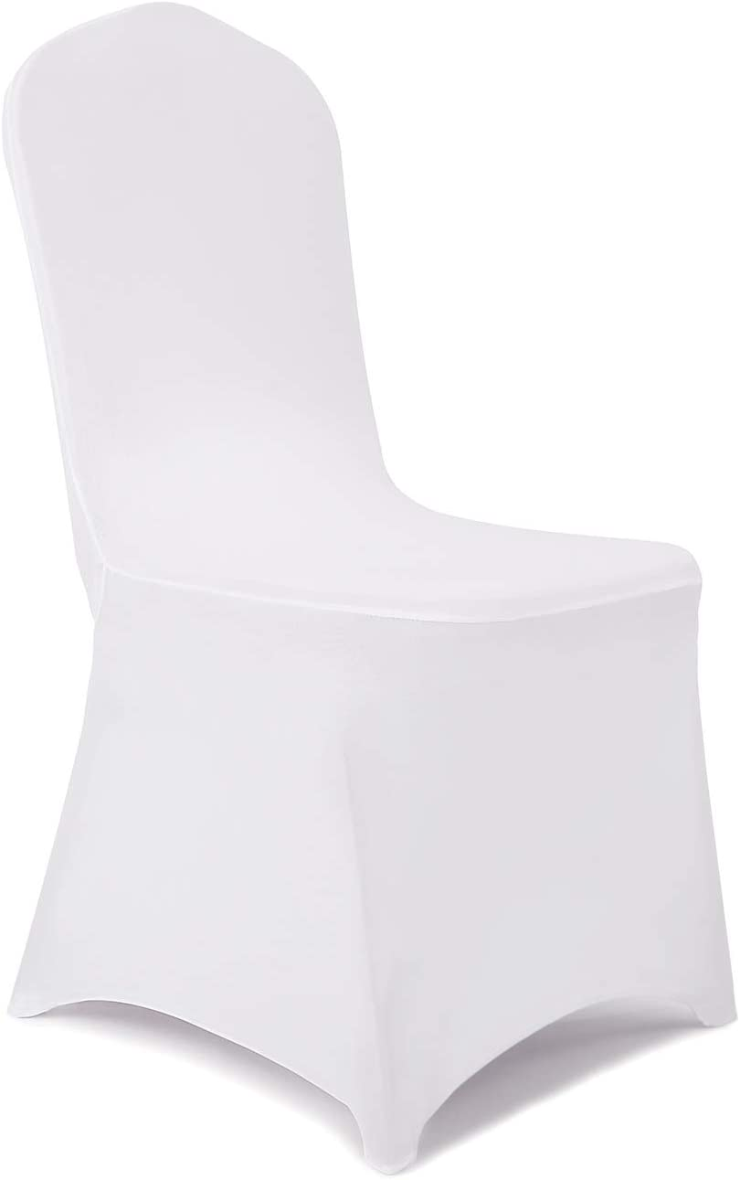 Peomeise Beauty products 50pcs Stretch Genuine Spandex Chair Din for Cover Party Wedding