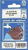 Joint fibre tête de robinet Gripp - Diamètre Extérieur : 25 mm - Intérieur : 21 mm - Vendu par 15