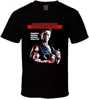 camiseta de comando arnold