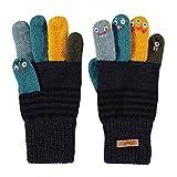 Barts Unisex Baby Puppet Handschuhe, Blau (Navy 3), One size (Herstellergre: 43/46)