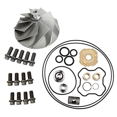 Turbo Compressor Wheel and Turbo Rebuild Kit for Ford 7.3L Powerstroke Turbochargers TP38 GTP38