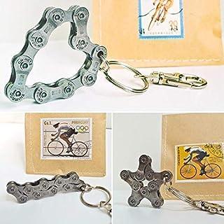 Re:Format-Handmade Schlüsselanhänger für Radfahrer/Geschenk für Radsportler Mountainbike Rennrad Fahrrad