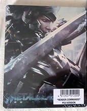 "METAL GEAR RISING REVENGEANCE SteelBook ""RENDER COMMANDO"" DLC PS3"