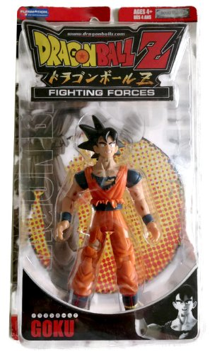 Dragonball Z Fighting Forces Poseable Action Figure - Goku image