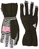 adidas Basic YG Kinder Handschuhe Black/white/sopink Medium Rosa - Black/White/Neon Pink