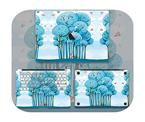Lovely Cute Laptop Sticker For Macbook Pro Air 11 13 15 Retina Full body Skin Cover Protector Sticker Cute kawaii Protector Skin-6-Retina13 A1425 A1502