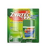 Zyrtec 24 Hour Allergy Relief Tablets, 10 mg Cetirizine HCl Antihistamine Allergy Medicine, 45 ct (Pack of 2)