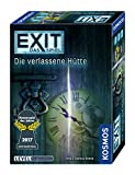 KOSMOS 692681 - EXIT - Das Spiel - Die verlassene Hütte, Kennerspiel des Jahres 2017, Level: Fortgeschrittene, Escape Room Spiel