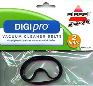 Bissell Digipro 6900 Power Nozzle Flat Belt (Pack of 2)