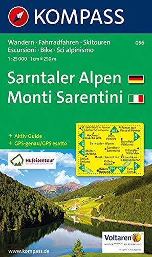 Sarntaler Alpen/Monti Sarentini 1 : 25 000: Wandern / Rad / Skitouren. Escursioni / bike / sci alpinismo. GPS-genau