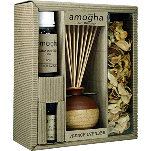 IRIS Reed Diffuser Fragrance Gift Set -French Lavender (INFG0314FL)