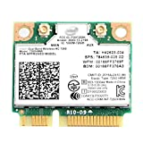 REKONG 7260ac 7260HMW Half Mini PCIe WiFi Adapter Dual Band Wireless-AC 7260 PC PCIe Card 2x2 Wi-Fi BT4.0 802.11 b/a/g/n/ac PCI Express Mini Network Card for Windows 7 8 10