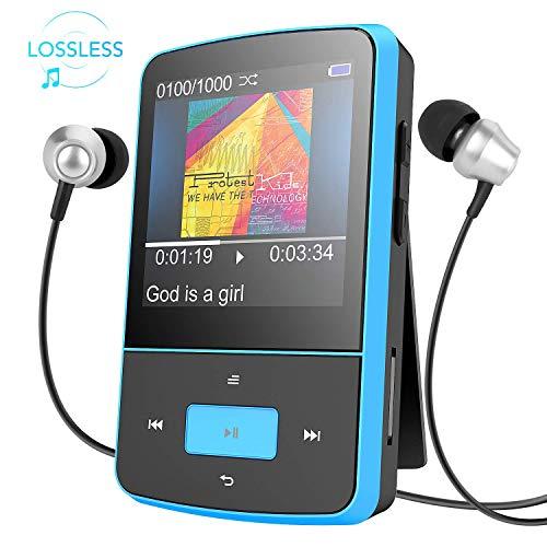 AGPTEK G-05 Mini Clip MP3-Player