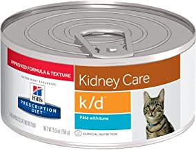 HILL'S Prescription Diet k/d Kidney Care Pate with Tuna Canned Cat Food 12/5.5 oz