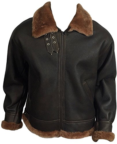 DX Leather Products -  Cappotto - Uomo Brown Medium