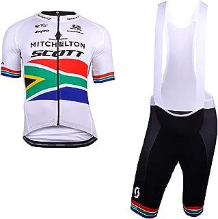 6ca9f0394257 DDDD store Abbigliamento da Ciclismo per Uomo Set Traspirante Quick Dry  Maglia Manica Corta da Ciclista