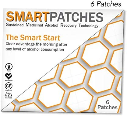 Hangover Prevention Patches by Smart Patches Pack of 6 product image