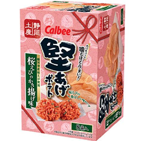 Calbee(カルビー)『堅あげポテト 桜えびのかき揚げ味』