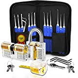 Multitool Set - Stainless Steel, Training Kit, Specially Designed, Multifunctional use, Professional 17-Piece (Blue)
