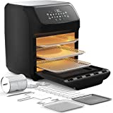 Pro Breeze Air Fryer Oven - Large Air Fryer Toaster Oven, 12 Cooking Modes including Rotisserie & Food Dehydrator, 19 Accessories, 12.7 QT