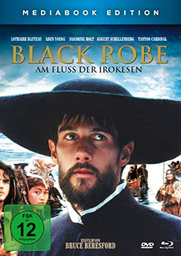 Black Robe - Am Fluss der Irokesen - Mediabook (+ Blu-ray) [2 DVDs]