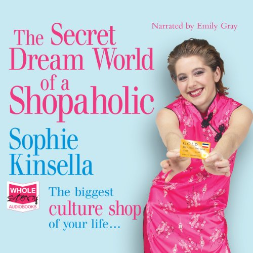 The Secret Dreamworld of a Shopaholic audiobook cover art