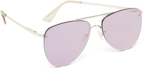 Le Specs Women's The Prince Mirrored Sunglasses