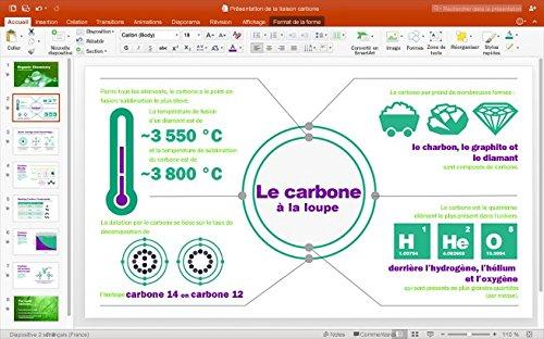 Microsoft Office Famille et Petite Entreprise 2016 | Mac | Box