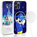 Magsafe Case Compatible with iPhone 11 Pro Max 6.5' Magsafe Charging, Mickey Mouse Mobile Phone Case Protection, Soft TPU Full Body Protection Shockproof Cover Case for Women Girls Boys Men